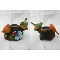 Wholesale two birds polyresin speaker from china suppliers