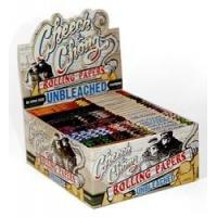 China Cheech and Chong King Size Unbleached Rolling Papers on sale