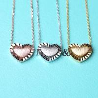 Wholesale 925 sterling silver heart pendant necklace and link chain China jewelry manufacturer 2015111107 from china suppliers