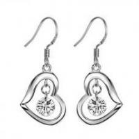 Wholesale Silver Plated Earrings from china suppliers