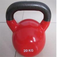 Wholesale Vinyl/Neoprene coated kettlebell from china suppliers