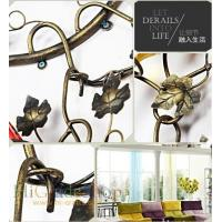 Wall-mounted Iron Wine Rack Wall-hanging Style design Home decoration Metal craft