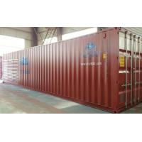 Refrigerating warehouse container