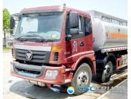 Wholesale FOTON 21 CBM Heavy Duty 3 Axle Oil Tank Truck from china suppliers