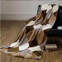 Grid Printed Flannel Blankets Blankets & Throws