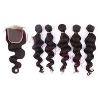 Wholesale 5bundles/lot Fantasy hair best virgin hair silky straight can be curled from china suppliers