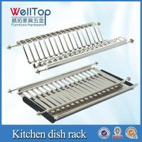 Wholesale Cabinet hardware stainless steel kitchen rack from china suppliers