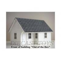 AD-15815 - AMERICAN DIORAMA 1/24 WHITE STATION BUILDING