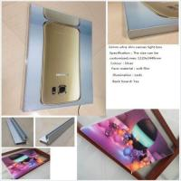 Wholesale 3.2cm edge light coverless full graphics fabric canvas tensioned led light box from china suppliers