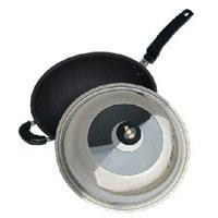 Wholesale Cookware 3-ply Ceramic wok w/ lid,18-10 s/s from china suppliers