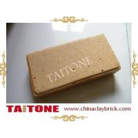 Wholesale Yellow clay paving bricks from china suppliers