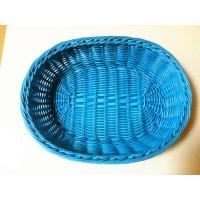 Wholesale PP plastic bread baskets/blue fruit baskets from china suppliers