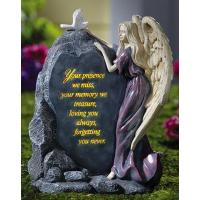 Wholesale Precious Angel Lighted Memorial Stone from china suppliers