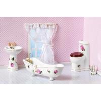 Wholesale Collectible Mini Porcelain Bathroom Set from china suppliers