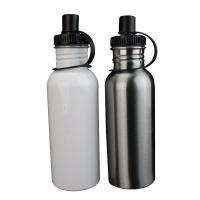 Wholesale 750ml Stainless Steel Bottle White from china suppliers