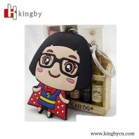 Wholesale high quality OEM cartoon keychain/kids toy keychain from china suppliers