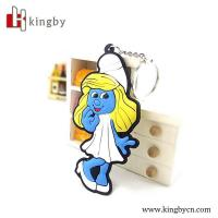 Wholesale Cartoon character promotion plastic 3D keychain from china suppliers