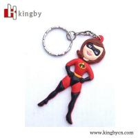 Wholesale OEM human character soft keychain from china suppliers