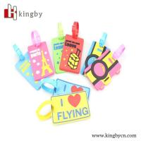 Wholesale factory OEM cartoon character luggage tag from china suppliers