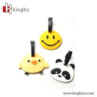 Wholesale customized shape 3D plastic luggage tag from china suppliers