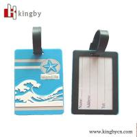 Wholesale promotional OEM plastic travel tag from china suppliers