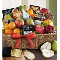 Wholesale Fruit & Gourmet Sweets Gift Basket N0.4 delivery gift to taiwan from china suppliers