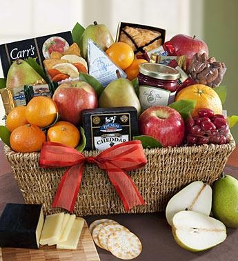 Quality Fruit & Gourmet Sweets Gift Basket N0.4 delivery gift to taiwan for sale