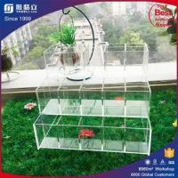 Wholesale Customized high polished acrylic makeup organizer divisoria acrylic makeup from china suppliers