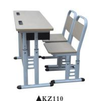 Wholesale Double used preschool furniture school chair desk for sale KZ110 from china suppliers