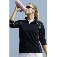 Wholesale Womens Vansport Lightweight Waffle 1/4 Zip TH110317044 from china suppliers