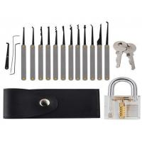 Wholesale 1-78+5-12 12pcs hook picks+practice padlock from china suppliers