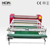 Large format roll to roll heat press machine with rolling&counting functions