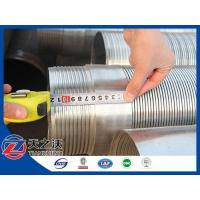 SS304 Stainless Steel Johnson Well Screen Pipe