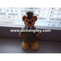 Wholesale fashion style plush uniform bear toy OEM ACL257 from china suppliers