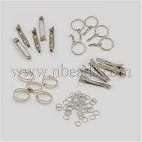 Wholesale 1Set Assorted Iron Findings including 5pcs Iron Flat Alligat...(IFIN-X0004) from china suppliers