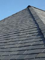 Stone Black slate roof tile
