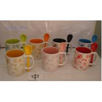 Wholesale WSY230M 11oz stoneware hand-painted promotional coffee cup(WSY230M) from china suppliers
