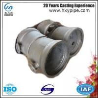 ISO2531 Ductile Iron Socket Spigot Tee Flanged Branch Pipelines