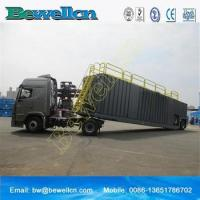 Wholesale 77m3frac tank with wheel for use in the oil industry from china suppliers