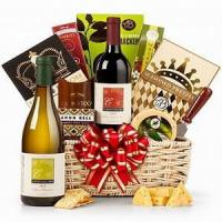 Wholesale The Royal Treatment Wine Gift Basket NO.49 taipei gift delivery from china suppliers