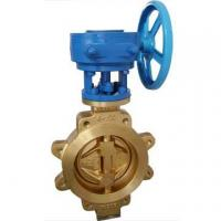 Buy cheap Bronze Butterfly Valve With Lug Type from wholesalers