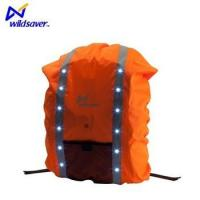 Wholesale Reflective safety backpack cover rain waterproof LED bag from china suppliers