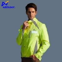 Wholesale Men sport LED wear reflective LED jacket for night cycling from china suppliers