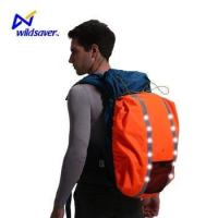 Buy cheap Reflective safety warning LED waterproof backpack rain cover from wholesalers