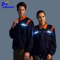 Buy cheap New design washable luminous safety workwear with LED light up from wholesalers