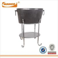 Embossing Ice Bucket With Holder And Tray MHI-392