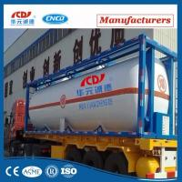 China Liquid Cryogenic Storage 20ft Iso Tank Container on sale