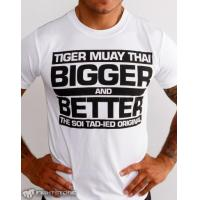 "T-Shirt - Drifit - ""Bigger & Better"" - White"