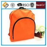 Wholesale Newest style orange waterproof promotional backpack from china suppliers