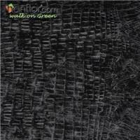 Wholesale pvc floor tile stone looking smooth for bathroom in black HVT2063 from china suppliers